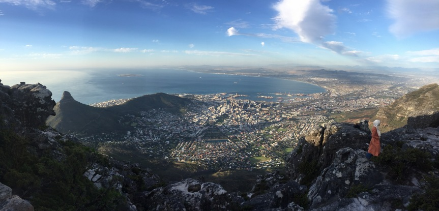 Studying an International Module in Cape Town ( SouthAfrica).